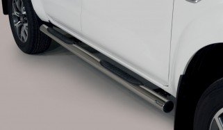Side bars 76 mm Renault Alaskan
