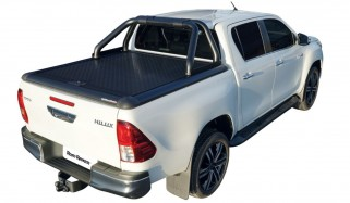 Alucover Toyota Hilux DC black