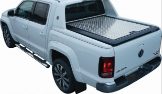 Alucover VW Amarok DC silver suitable for sportsbar